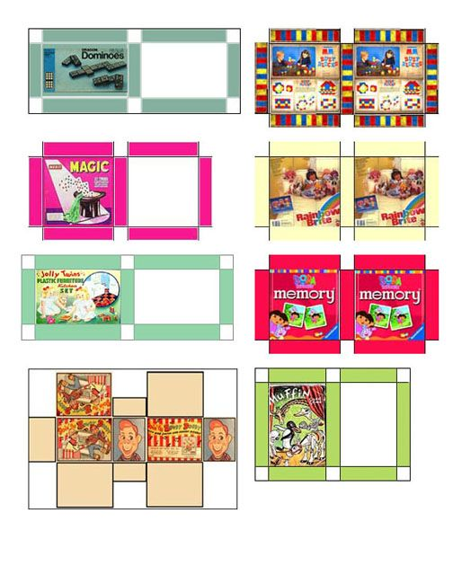 8 Images of Doll Mini Printables Dollhouse