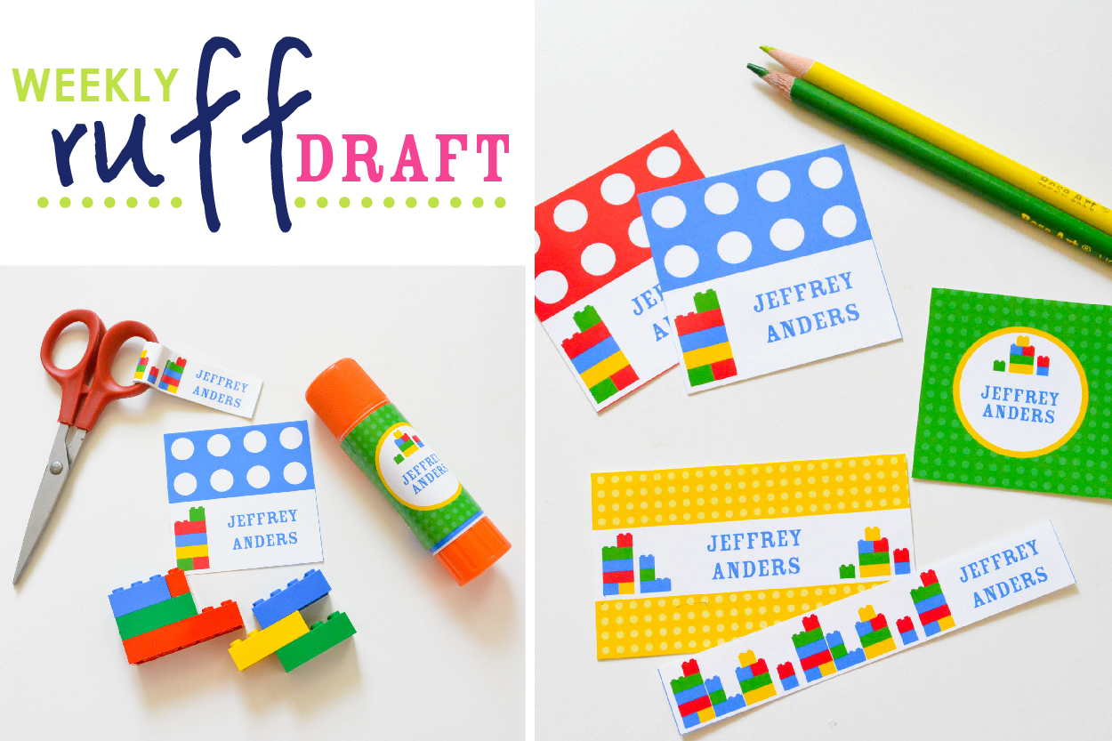 Free Personalized Printable Label School