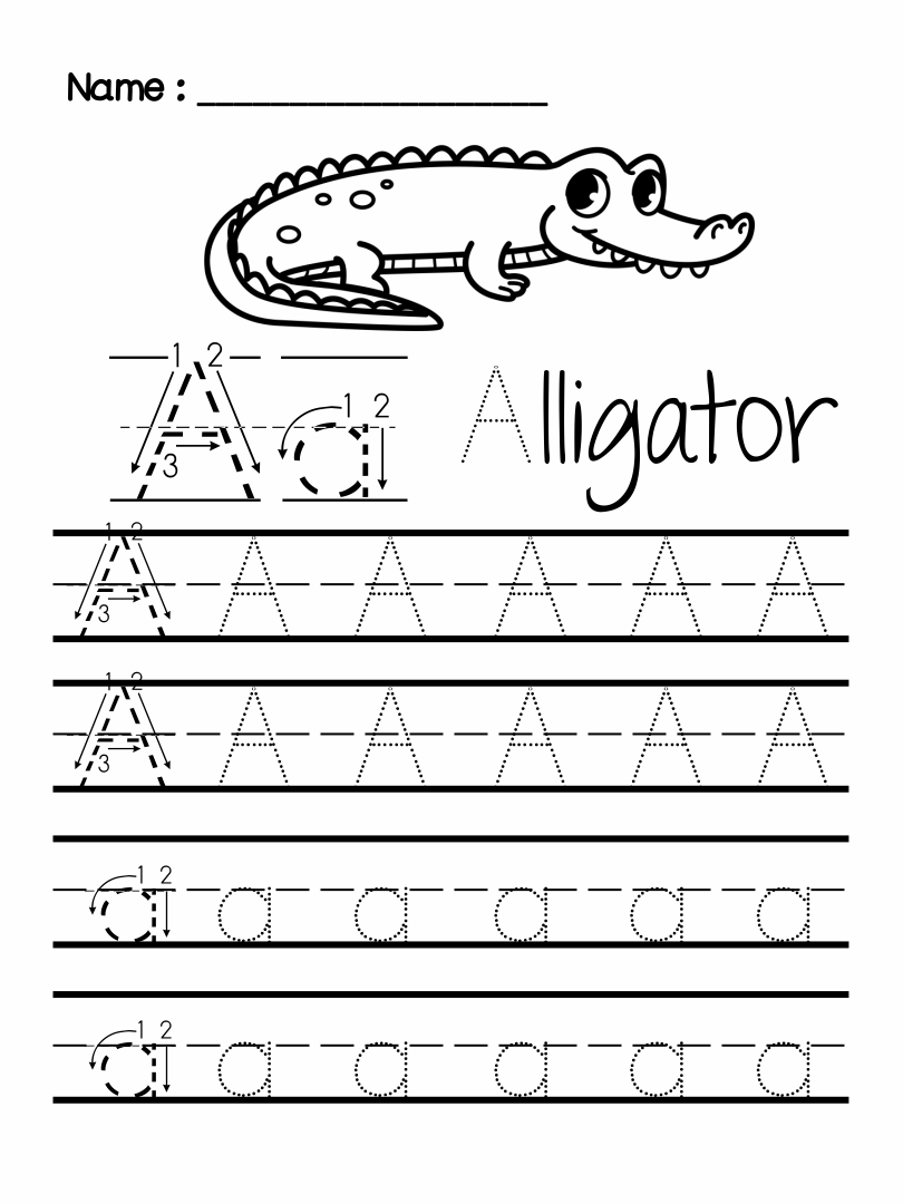 7 Best Preschool Writing Worksheets Free Printable Letters ...