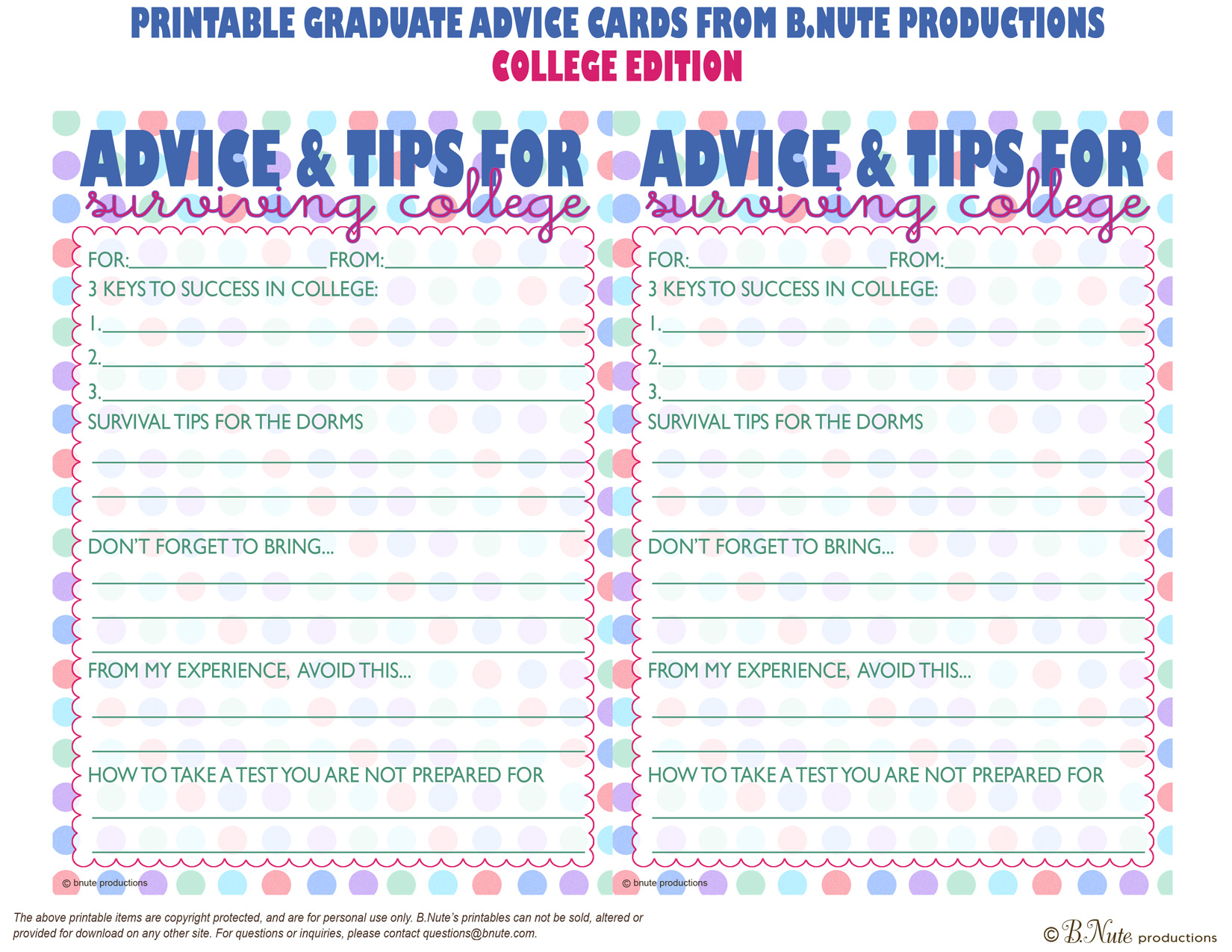 bridal shower advice cards template - 8 best images of baby advice printable cards free free