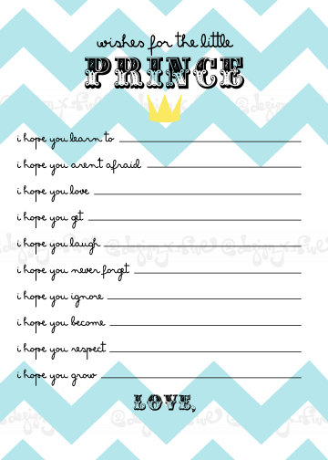 for baby boy printable baby shower wishes printable baby shower