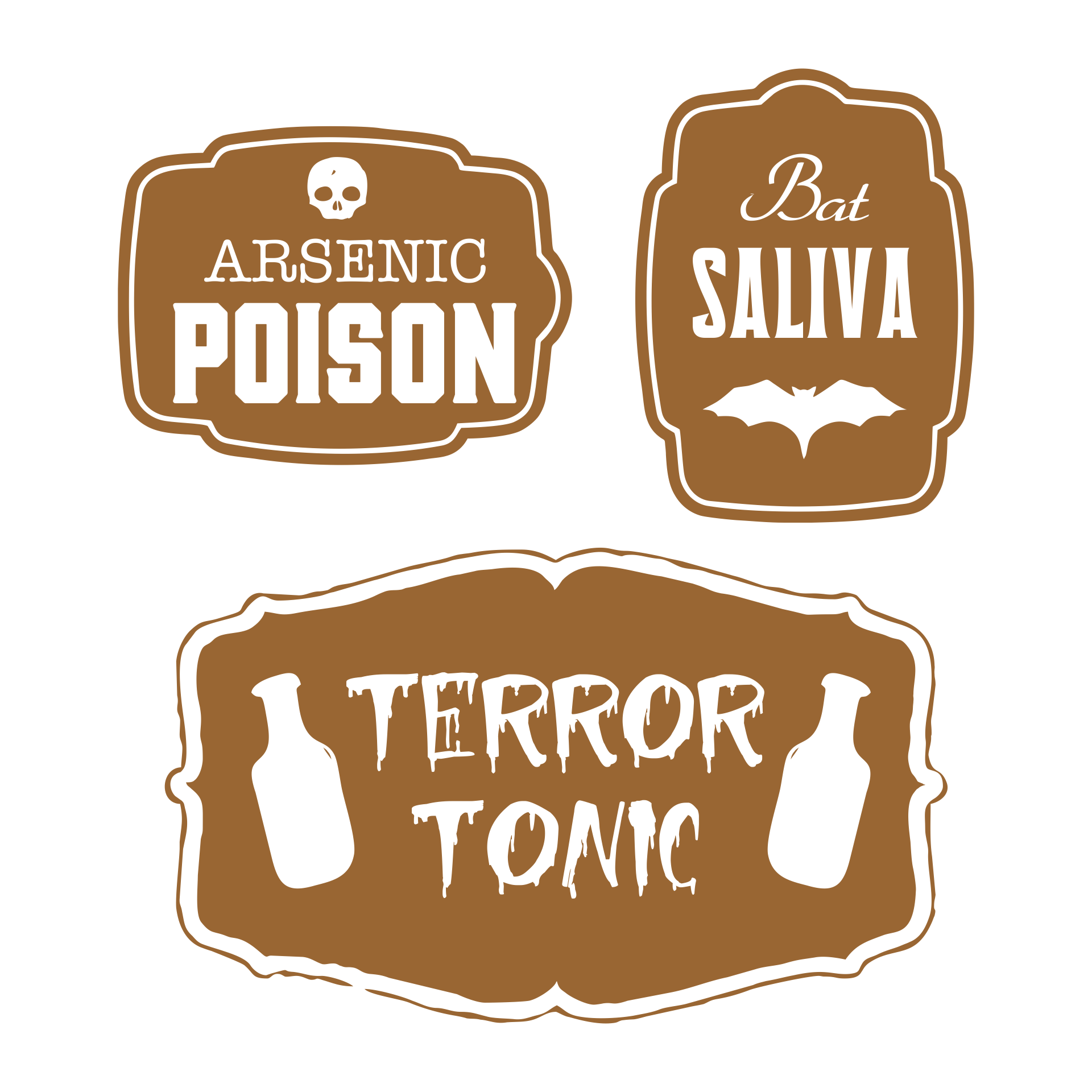 Free Printable Halloween Bottle Labels