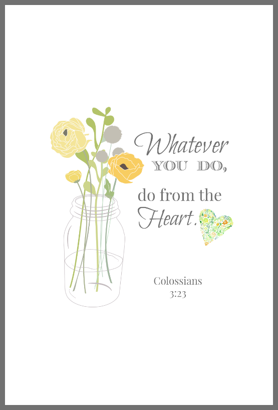 4 Images of Inspirational Free Printables