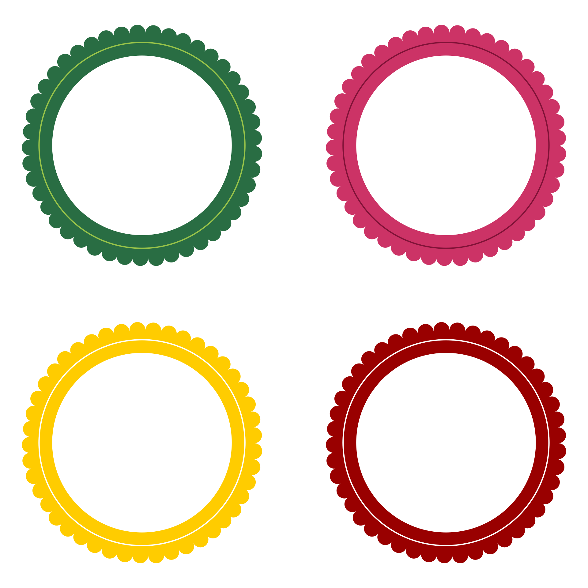 circle templates to print - 6 best images of printable labels free printable labels