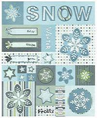 9 Images of Printable Winter Art Scrapbook