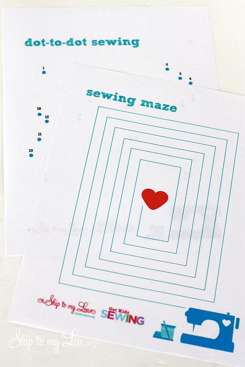6 Images of Printable Sewing Worksheets