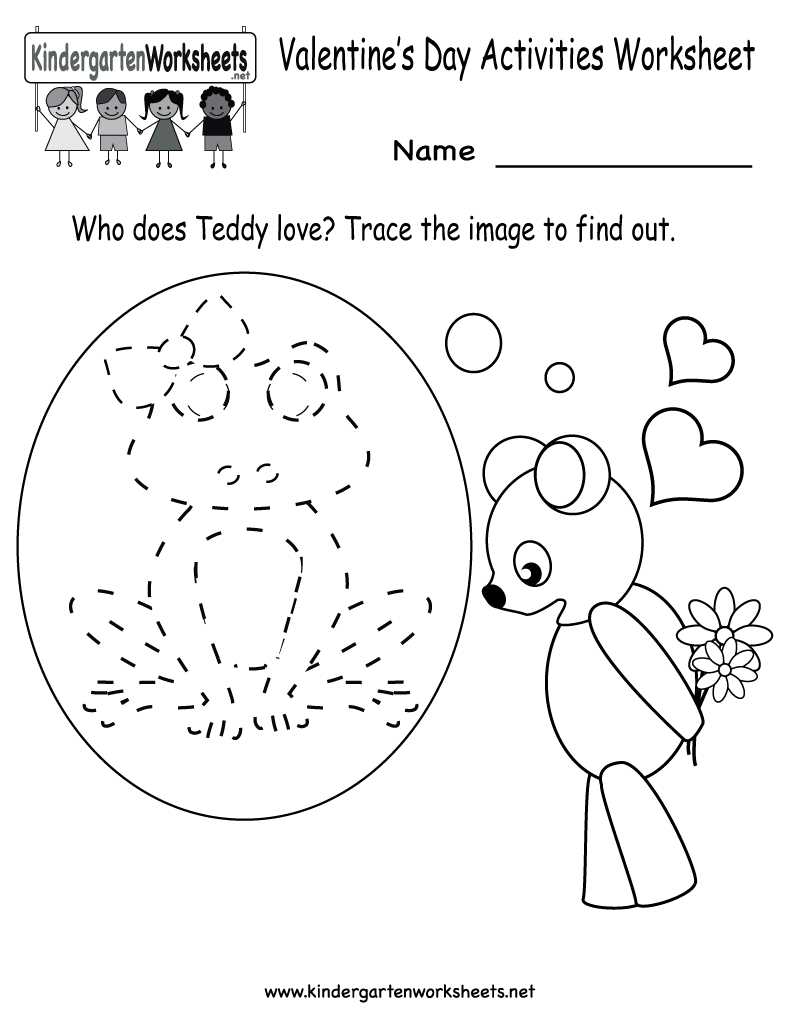 Worksheets Free Printable Valentine Worksheets 6 best images of valentines day printable worksheets free valentine activity worksheets
