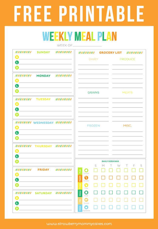 Free printable weekly planner sheets car pictures