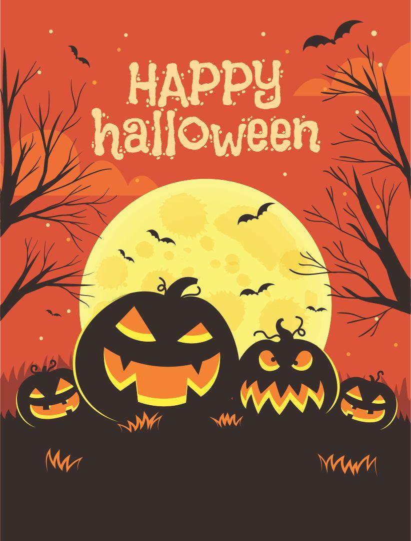 7 best images of printable halloween flyer templates halloween party flyer template halloween. Black Bedroom Furniture Sets. Home Design Ideas