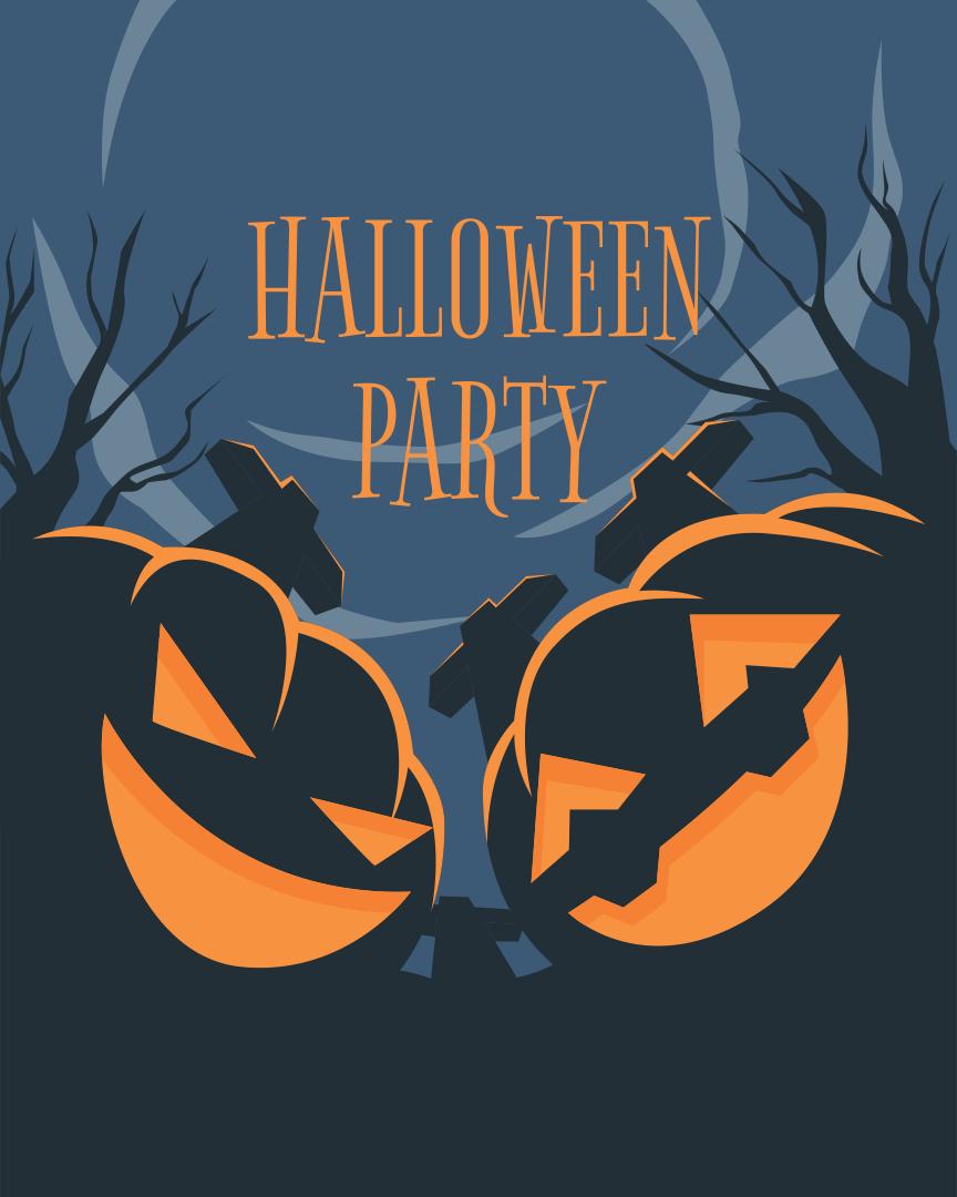 7 best images of printable halloween flyer templates halloween party flyer template halloween for Halloween flyer ideas