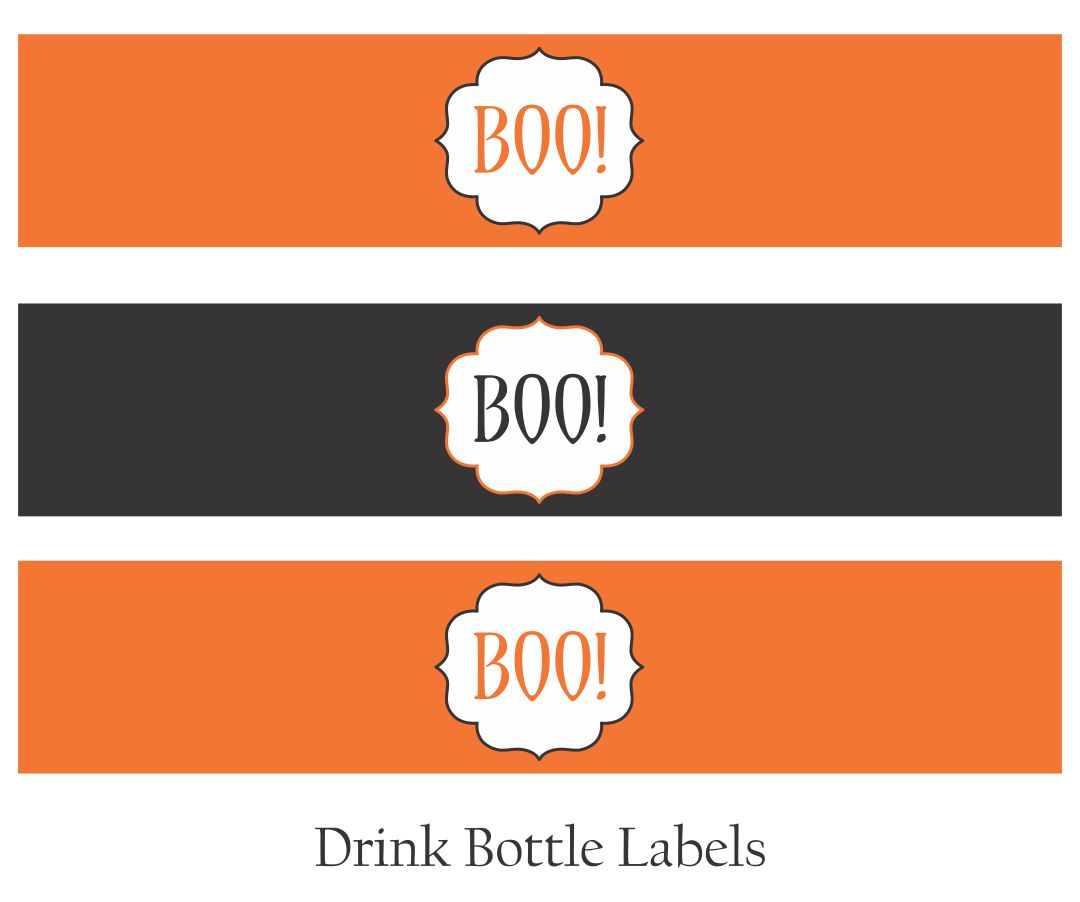 4 Images of Free Printable Vintage Halloween Banner