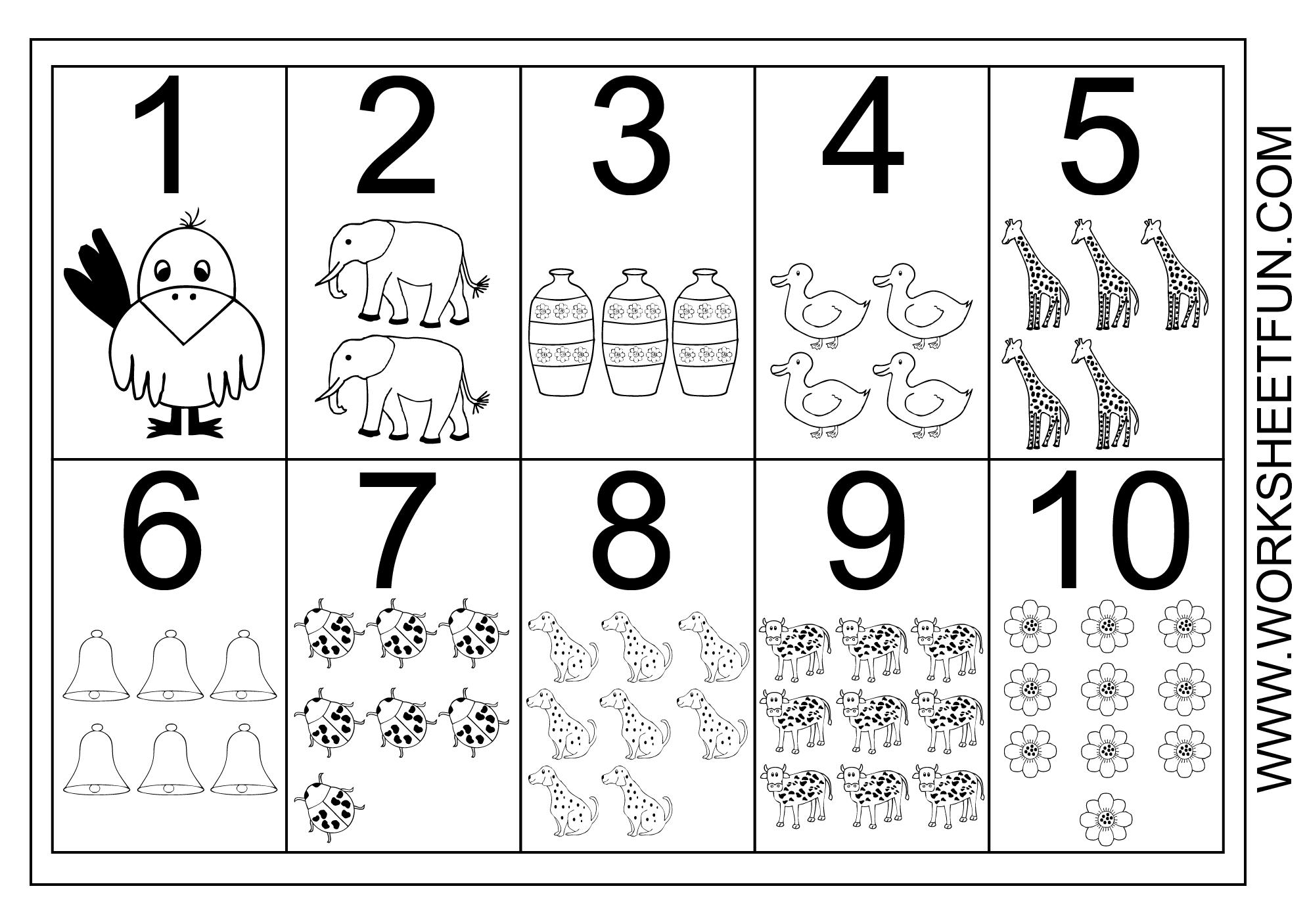 5 Best Images of Large Numbers Free Printable Preschool ...