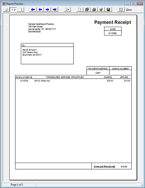 7 Images of Free Printable Doctor Receipt