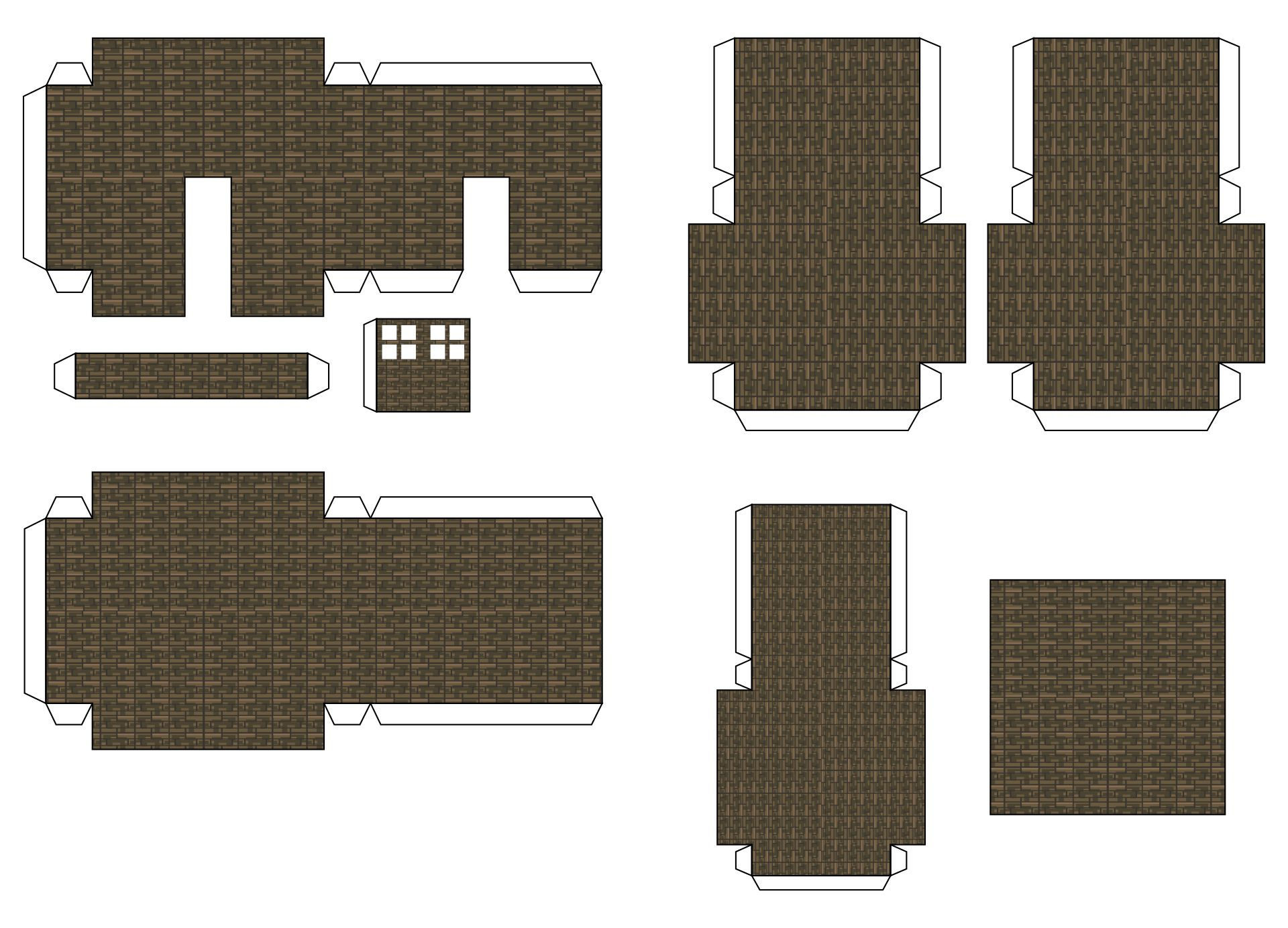 It is a picture of Minecraft Blocks Printable with regard to chest