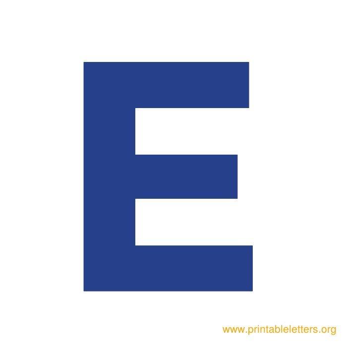 Free Printable Bold Alphabet Letters