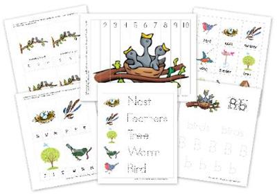 Printable Preschool Theme Birds