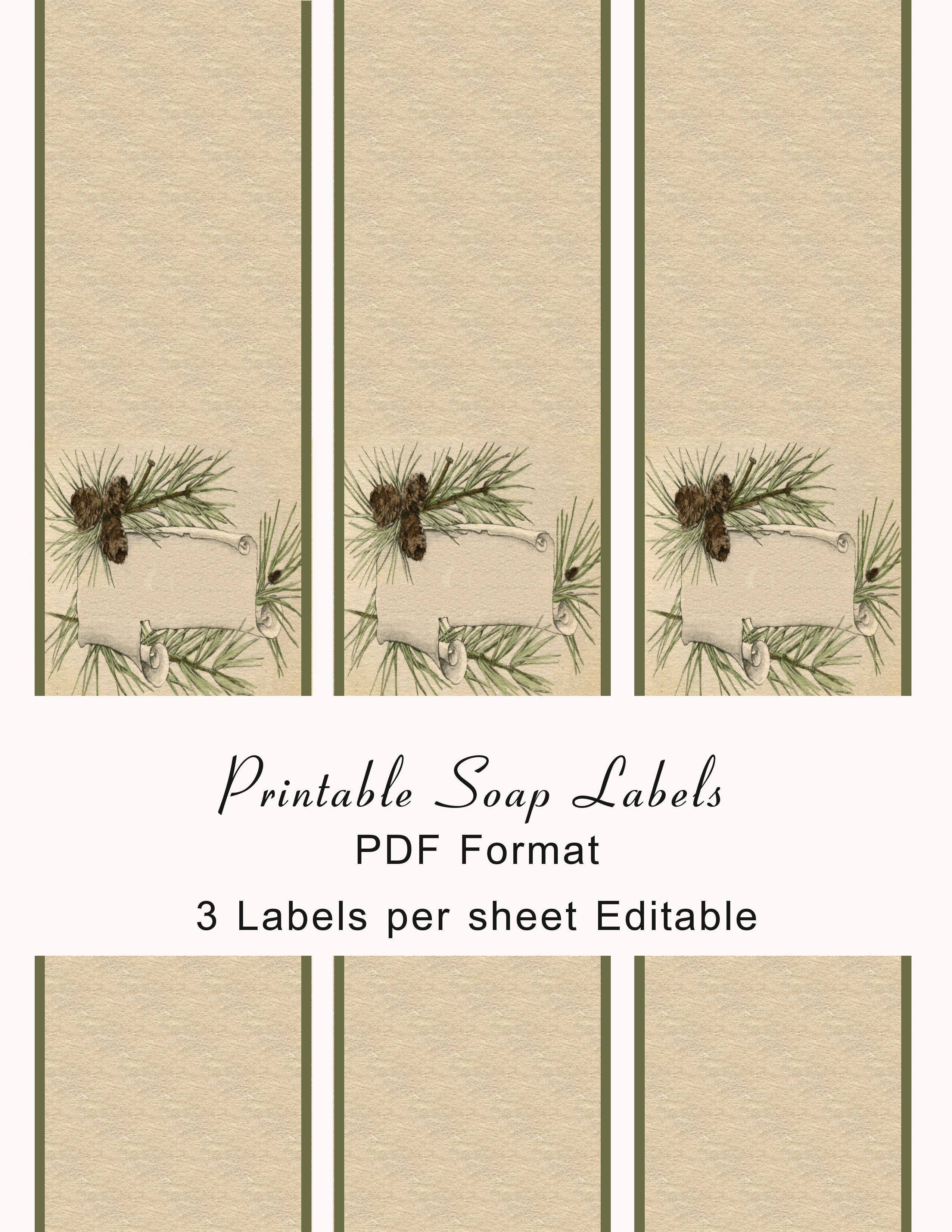Free Printable Soap Labels Template from www.printablee.com