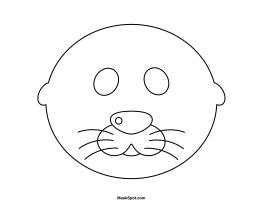 4 Images of Printable Seal Mask