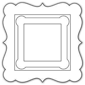 5 Images of Square Printable Fancy Frames
