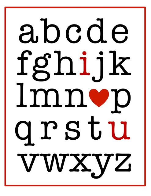 4 Images of Valentine Heart Sign Printables
