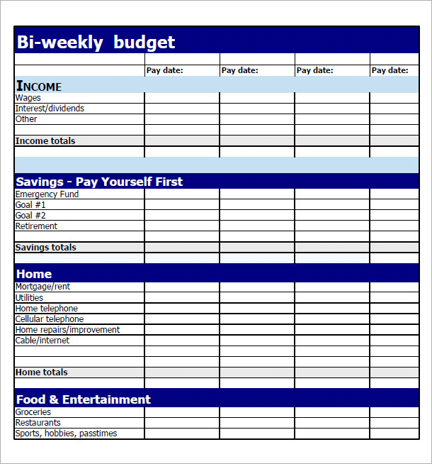 Worksheets Weekly Budget Worksheet Printable 8 best images of printable weekly budget spreadsheet template bi worksheet template