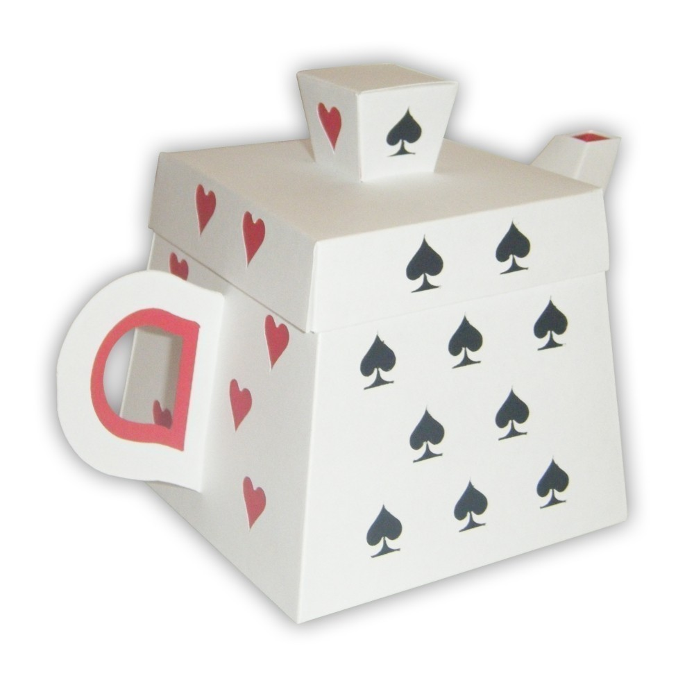6 Images of Playing Card Box Printable PDF Template