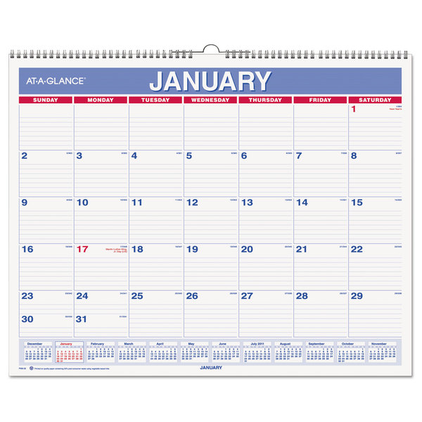 4 Images of 2016 Monthly Calendar Printable At A Glance