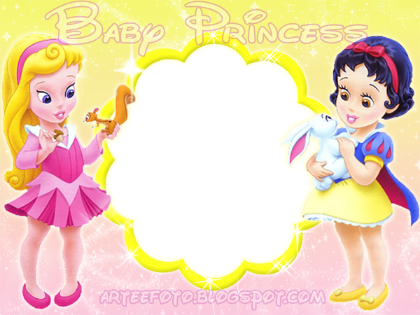 Baby Disney Princess Printable