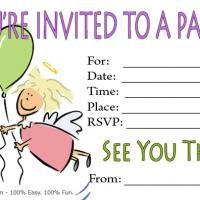 7 Images of Cartoon Birthday Invitations Printable