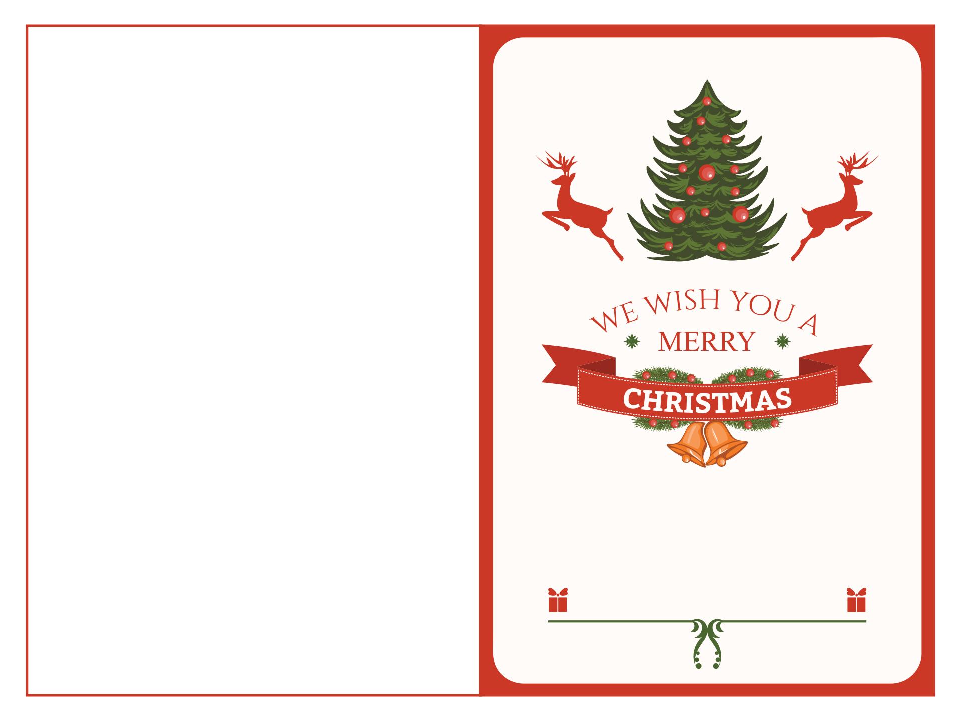 6 Images of Free Printable Christmas Templates