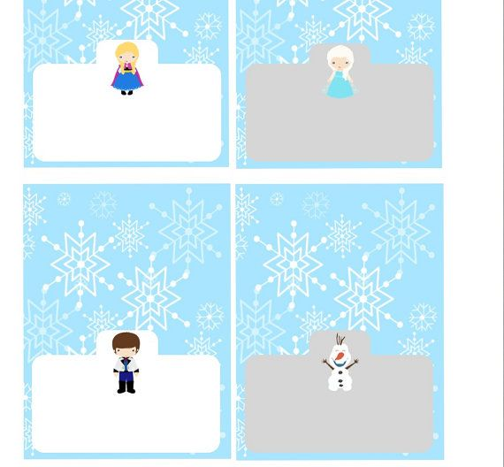7 Images of Disney Printable Frozen Labels