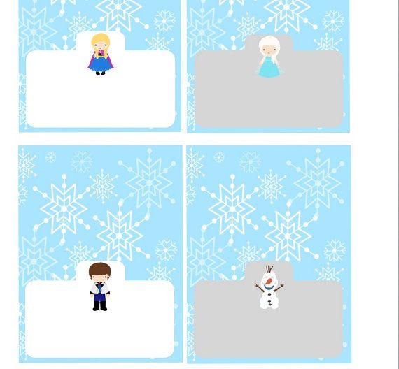 7 Images of Disney Printable Frozen Labels