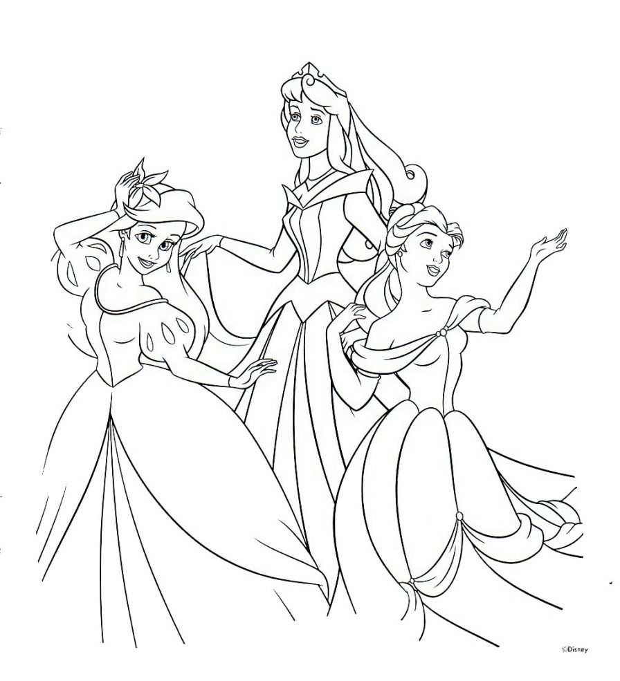 7 Images of Disney Princess Printables