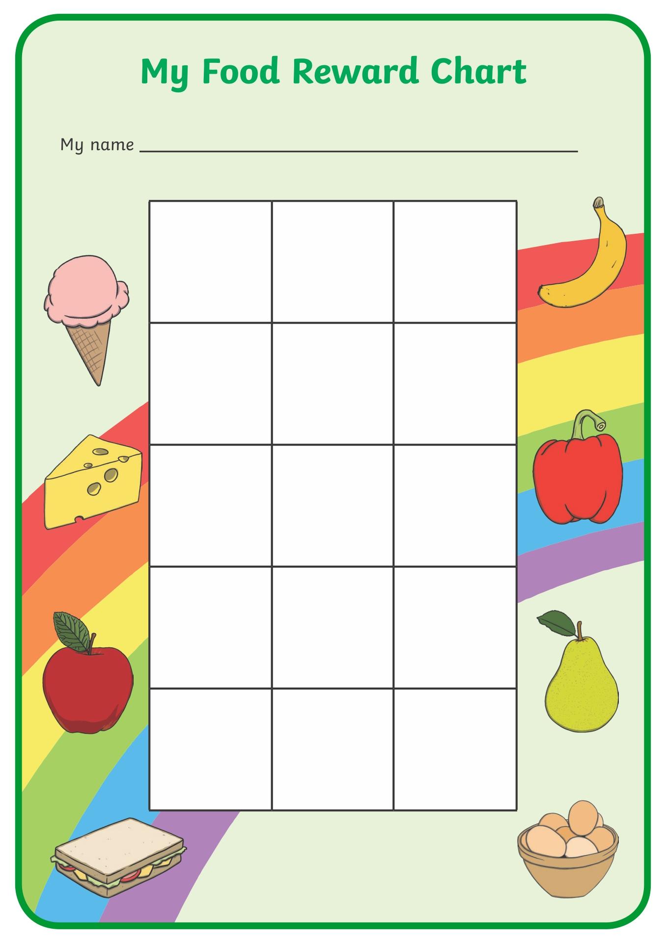 Food Reward Chart