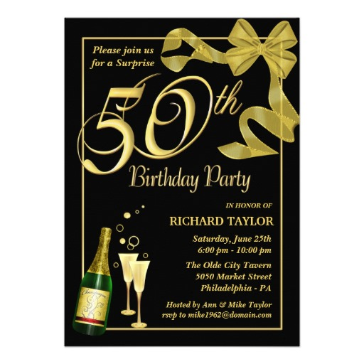 Free Ecards 50th Birthday Invitations Custom Invitations – Free Invitation Ecards for Birthday Party
