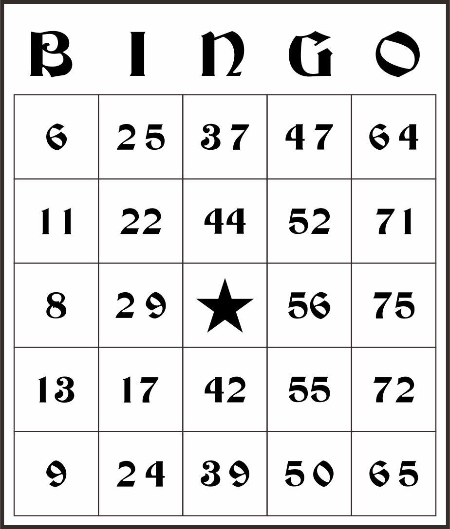 Bingo Cards to Print