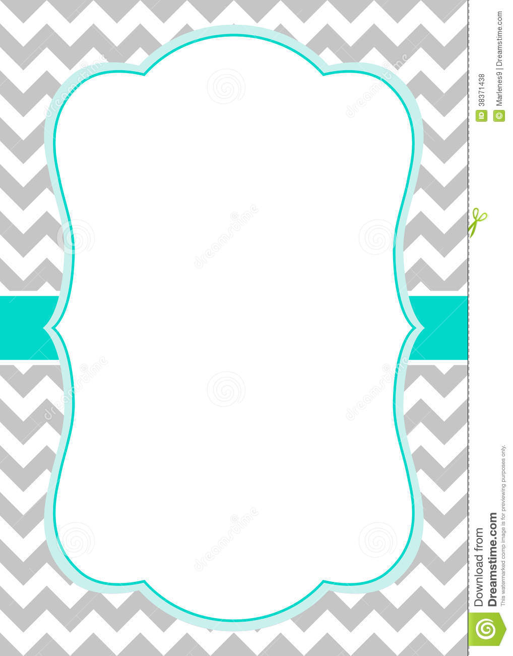 6 Images of Free Printable Chevron Border Template