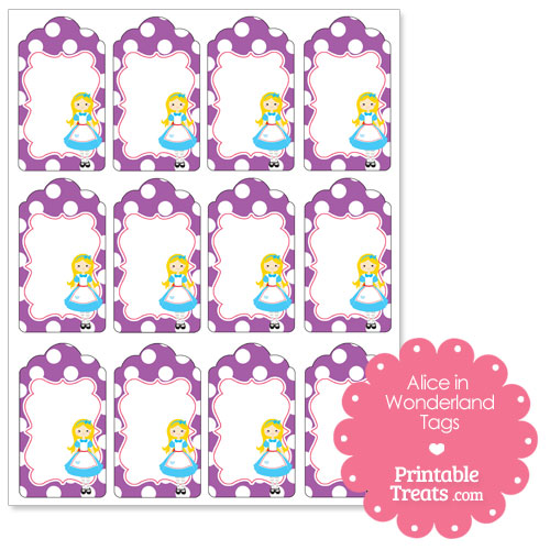 Free Printable Alice in Wonderland Clip Art