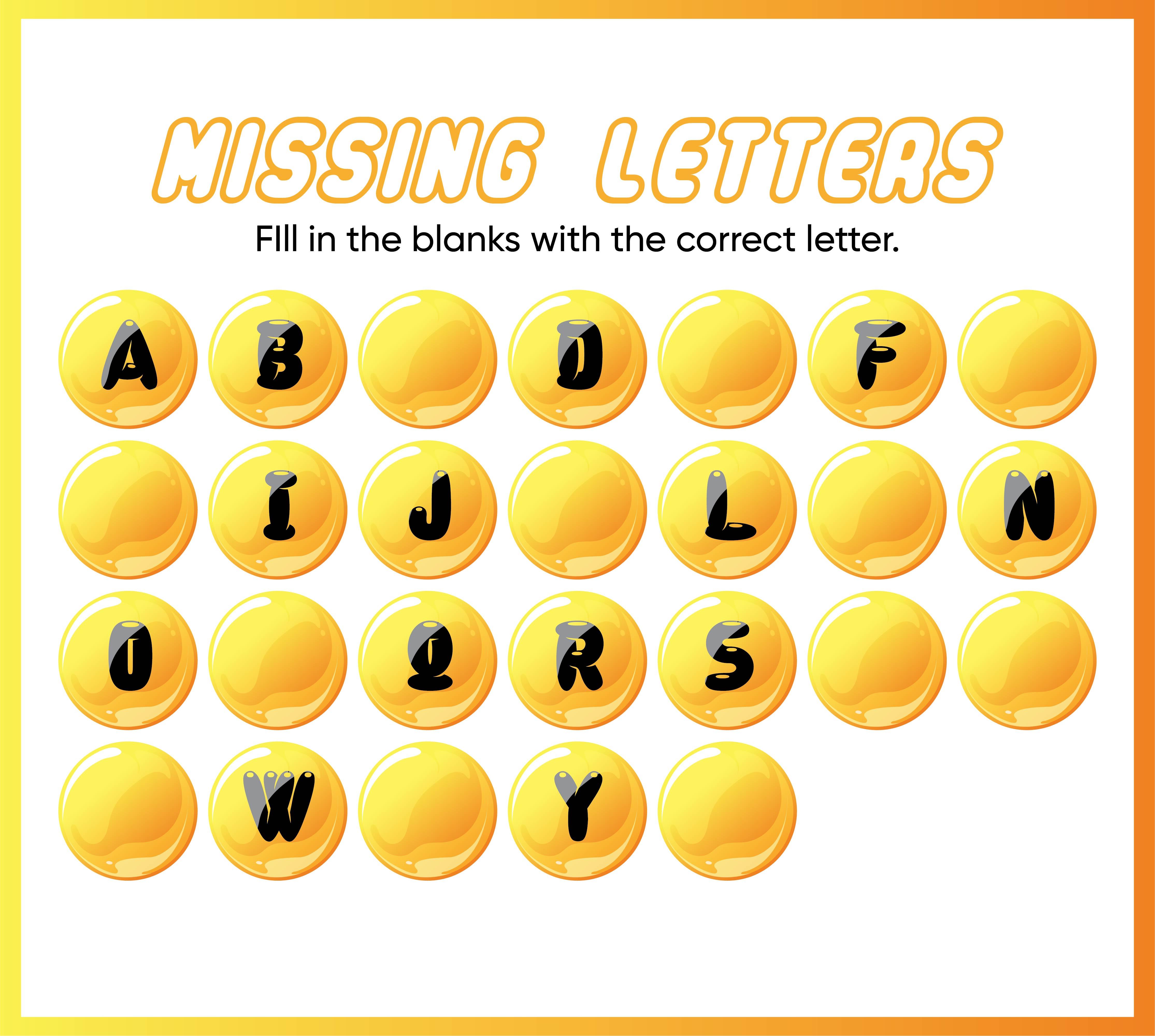 Printable Alphabet Letter Worksheets