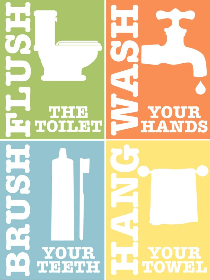 7 Images of Bathroom Rules Printable