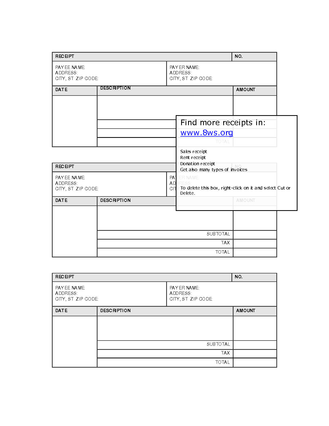 Free Printable Monthly Bill Organizer Template, Free Printable Annual ...
