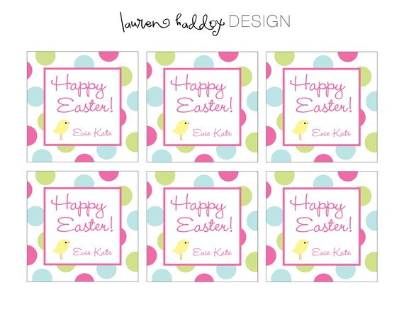 5 best images of religious easter printable gift tags for Easter name tags template