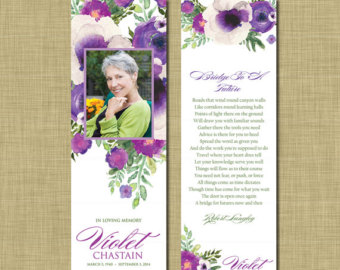 free memorial bookmark template download - 7 best images of beach memorial bookmark printable free