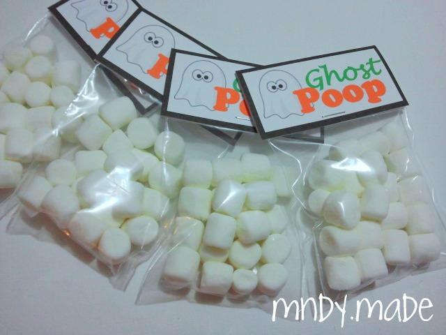 6 Images of Ghost Poop Printable