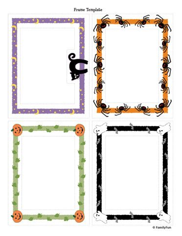 Free Printable Halloween Frame
