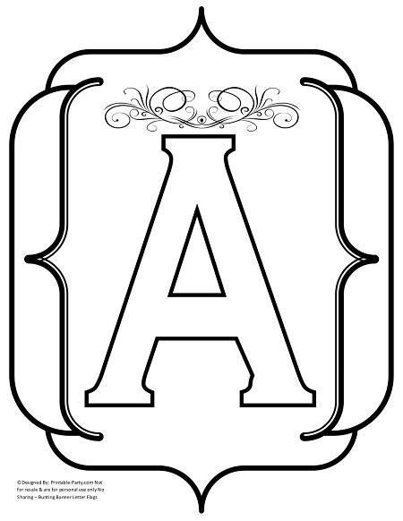 fancy alphabet letter templates - 7 best images of fancy alphabet letters printable heart