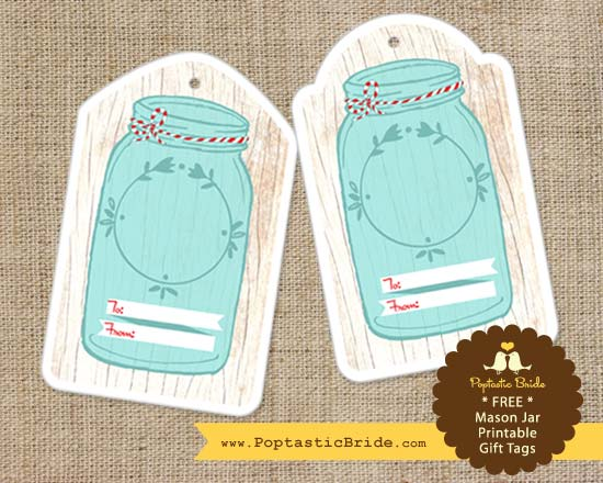 5 Images of Printable Gift Tags For Jars