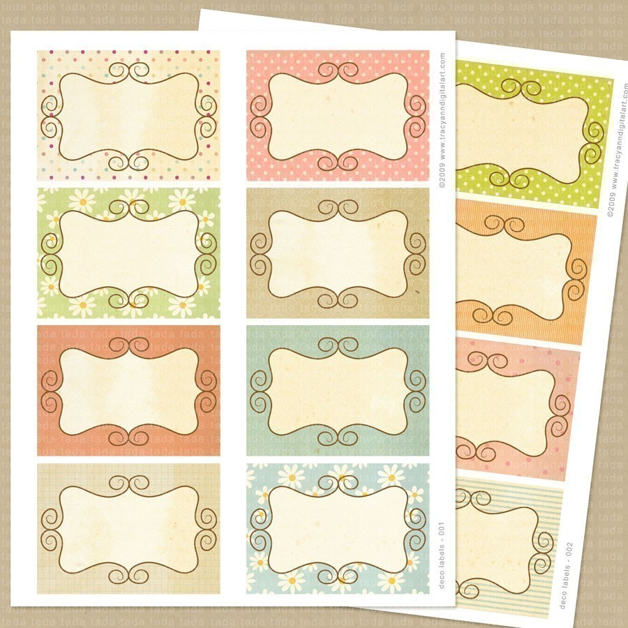 6 best images of scrapbook tags templates free printables for Templates for scrapbooking to print