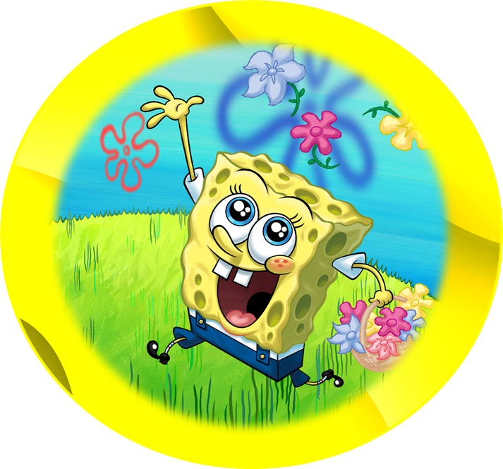 6 Images of Spongebob Party Printables Free