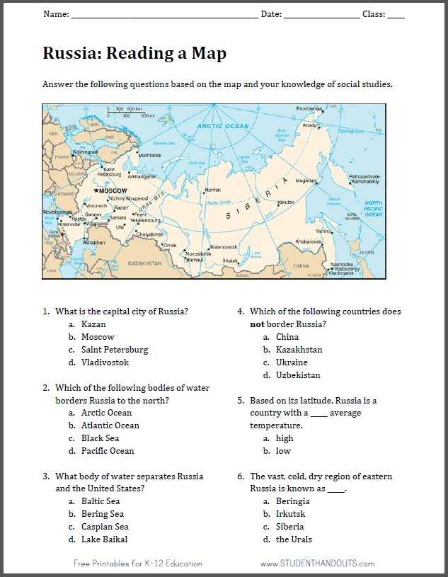 kindergarten map and globe worksheets
